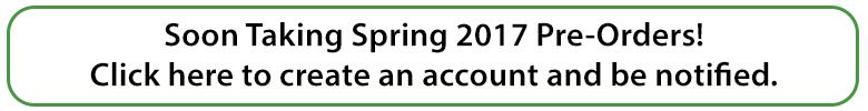 Pre order 2017 spring plug plants