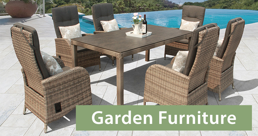 Choose your garden furniture