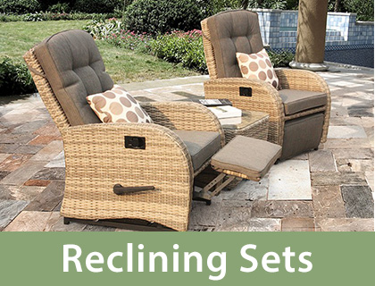 Shop reclining outdoor sets